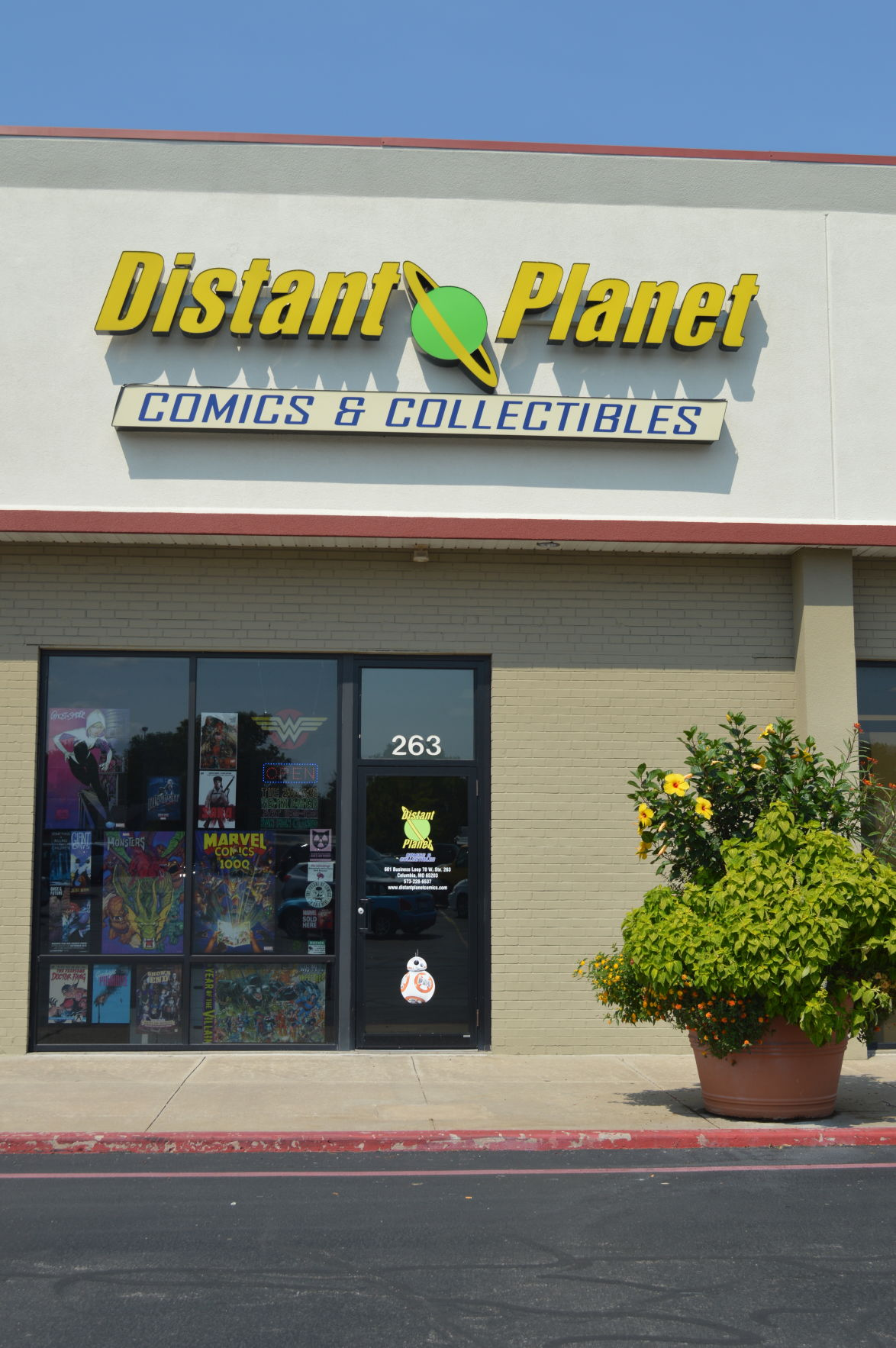 distant planet outdoor