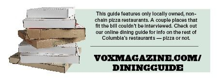 Vox's Guide to Pizza in Columbia