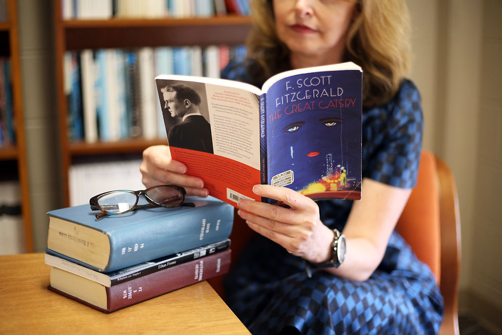 kris somerville reading great gatsby