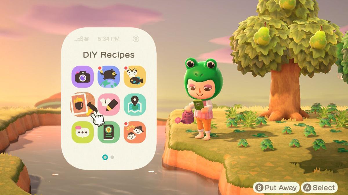 Animal Crossing: New Horizons Nook Phone