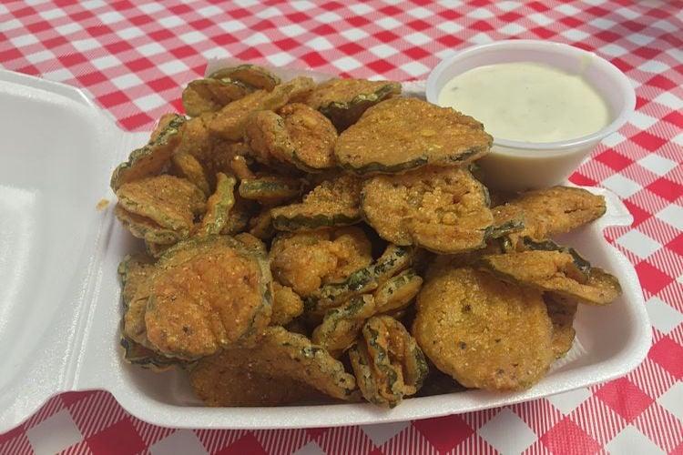 Kim's Fried Pickles