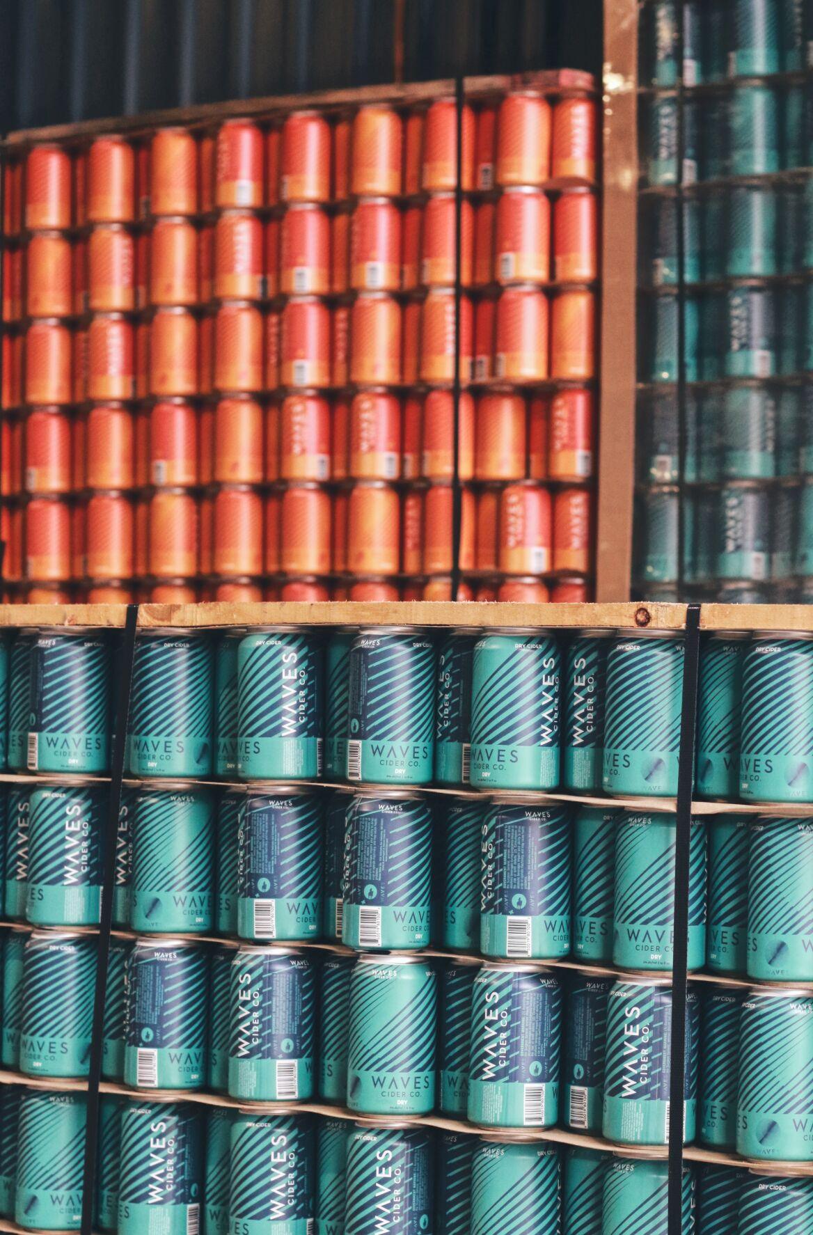 Waves Cider Beer