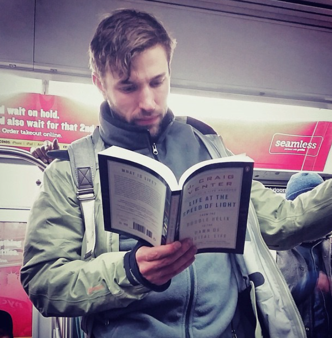 Five books hot dudes can read on the subway