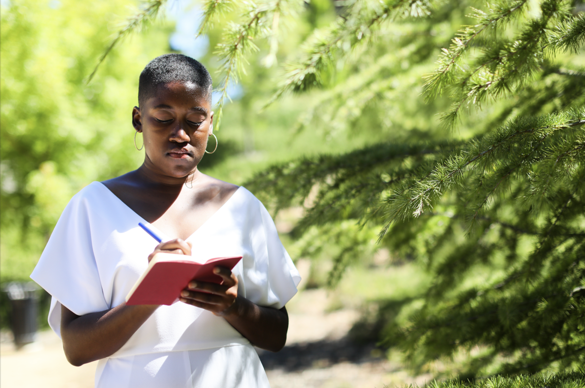 Poets- Sojourner Ahebee writing