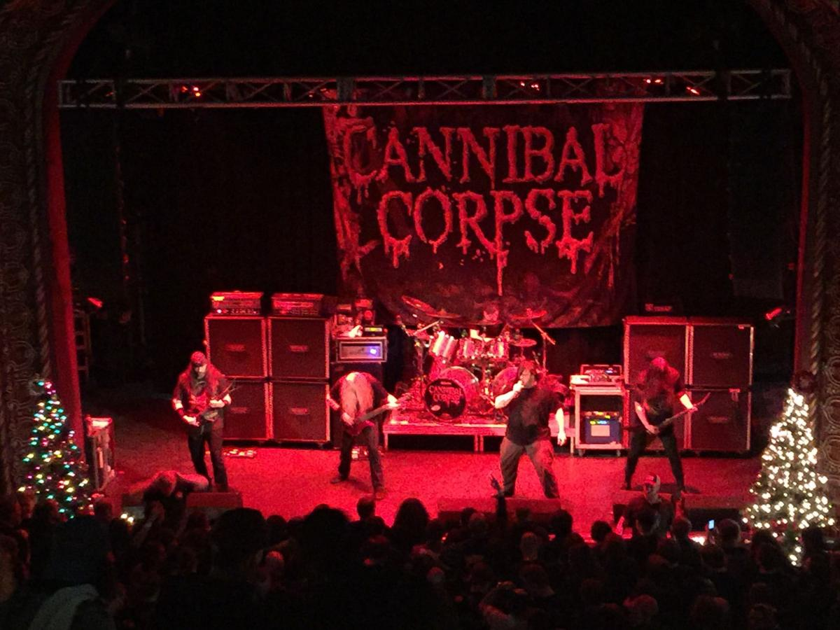Cannibal Corpse At the Blue Note