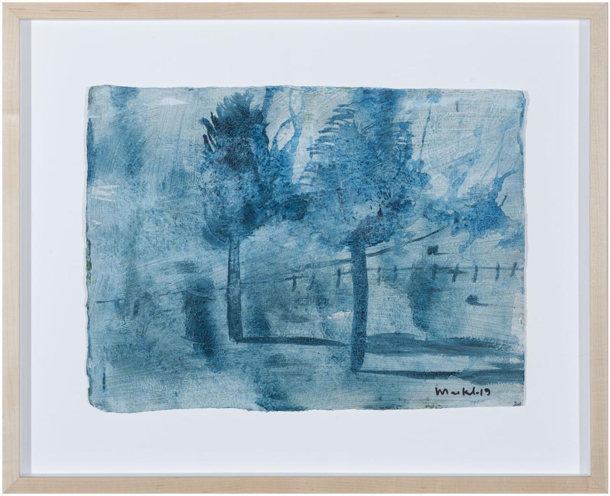 Paisaje Azul / Blue Landscape No. 4, Maikel Sotomayor