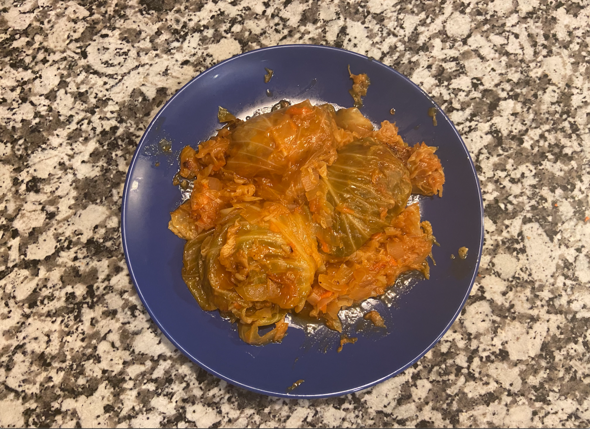 final cabbage roll