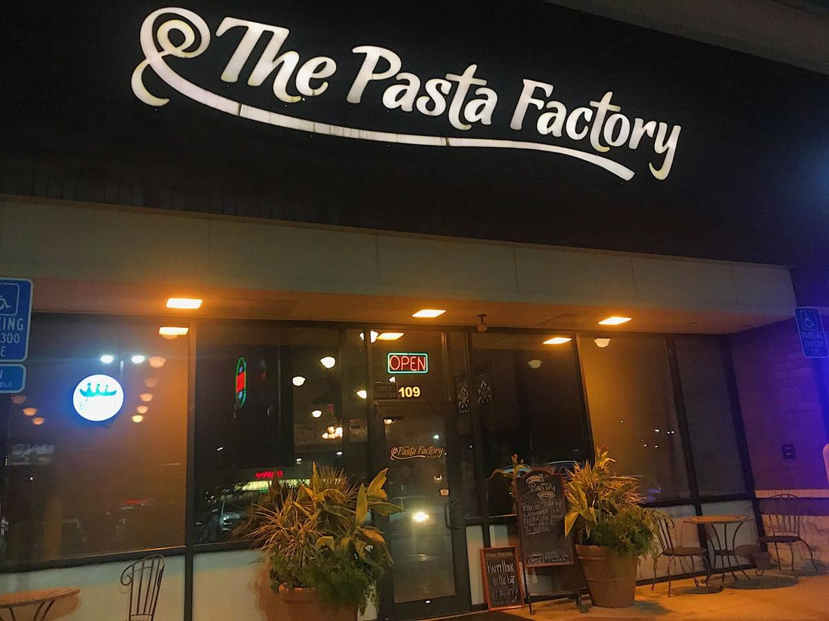 Outside The Pasta Factory