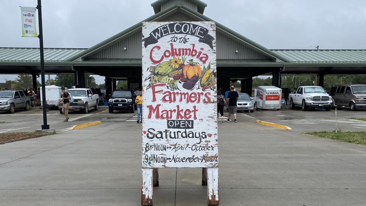 Columbia Farmers Market Sign