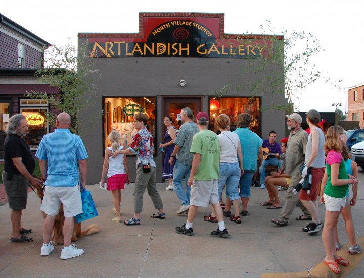 Front of ARTlandish Gallery