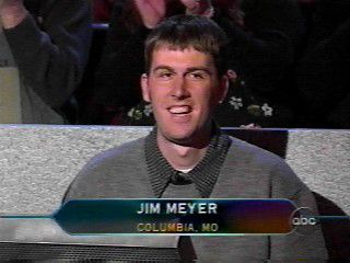 Jim Meyer Who Wants to Be a Millionaire