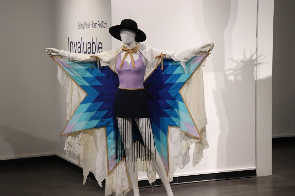 Sydney Pursel's performance costume