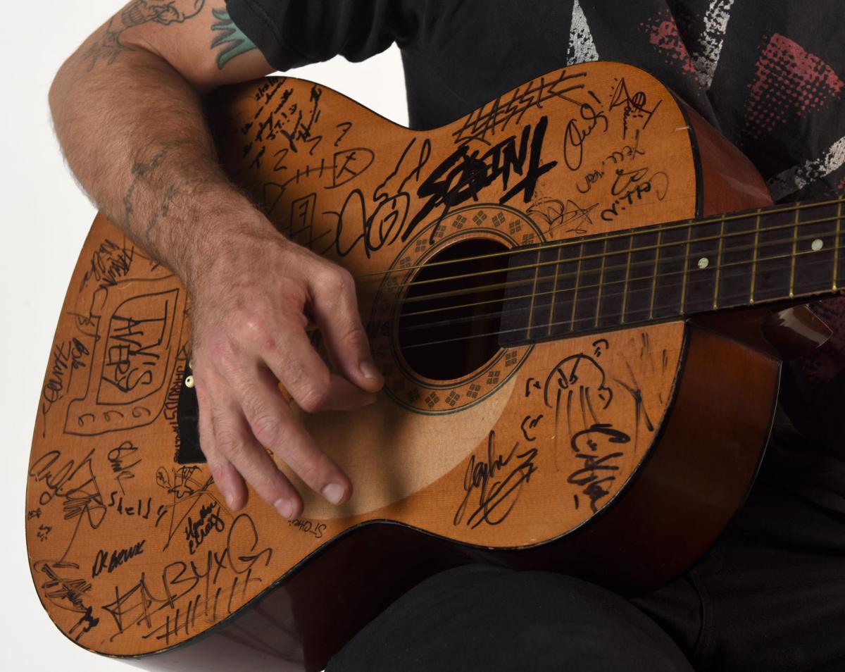 JT Schnakenberg's guitar