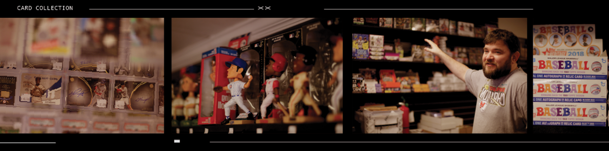 Baseball film strip