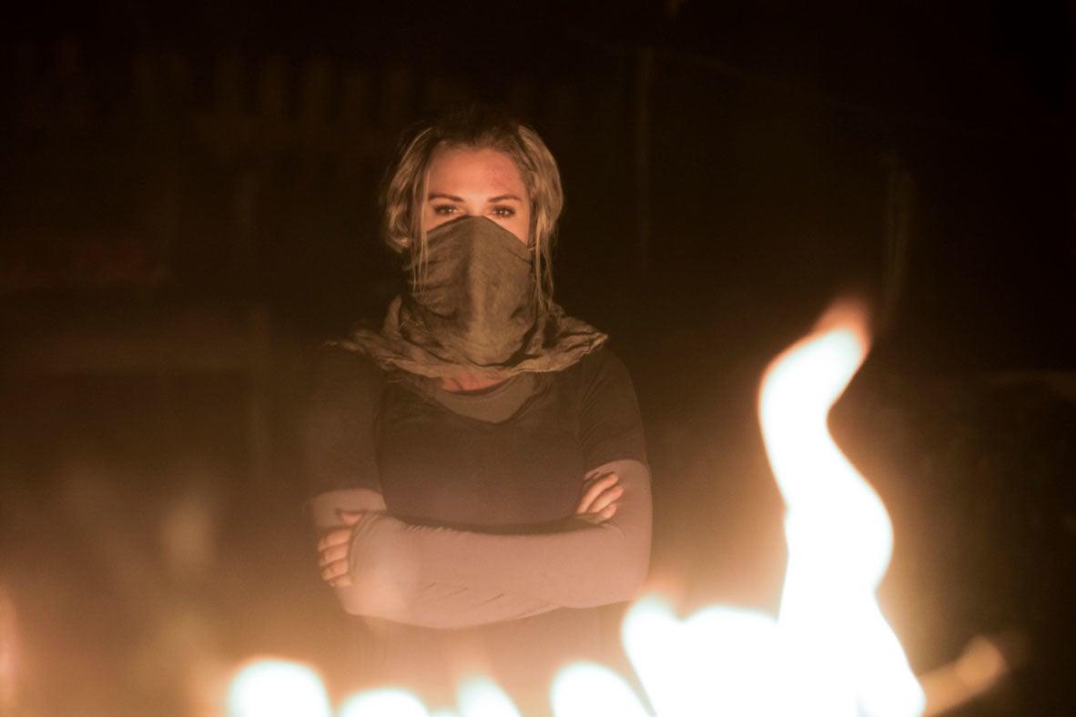 The 100 season 5 Clarke
