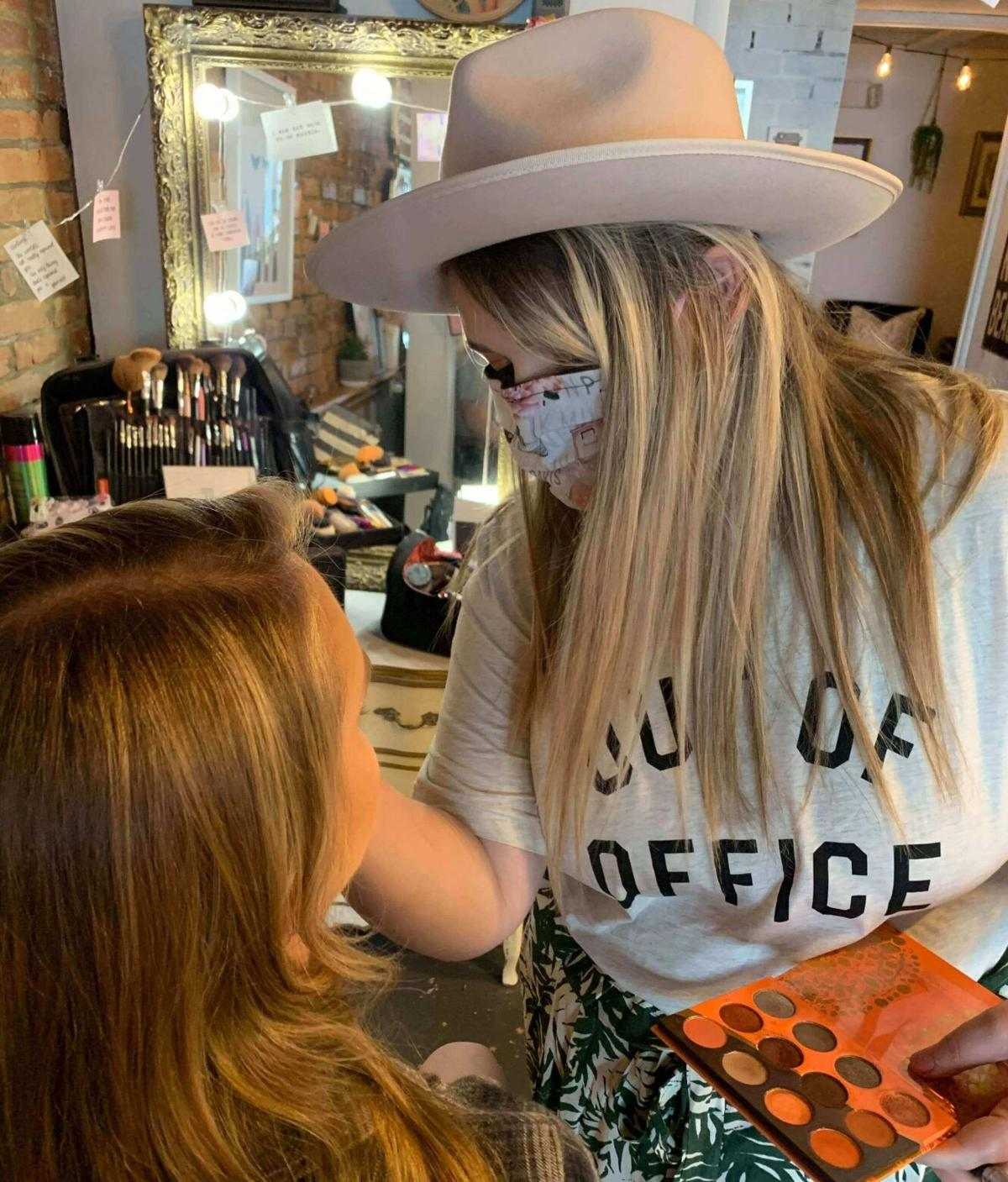 Marisa Burgett makeup