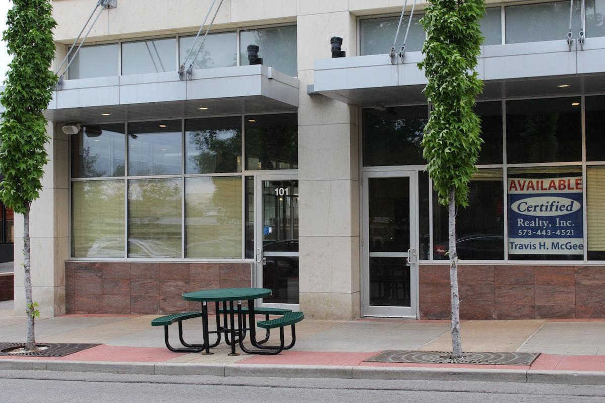 Moe's empty storefront
