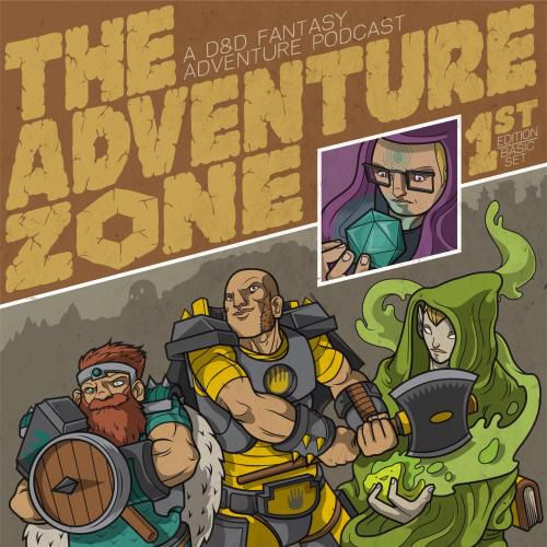 The Adventure Zone cover art