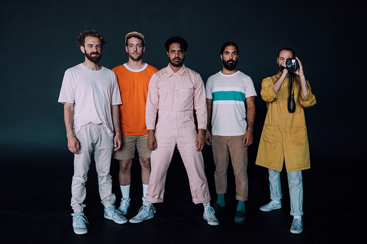 Young the giant band photo