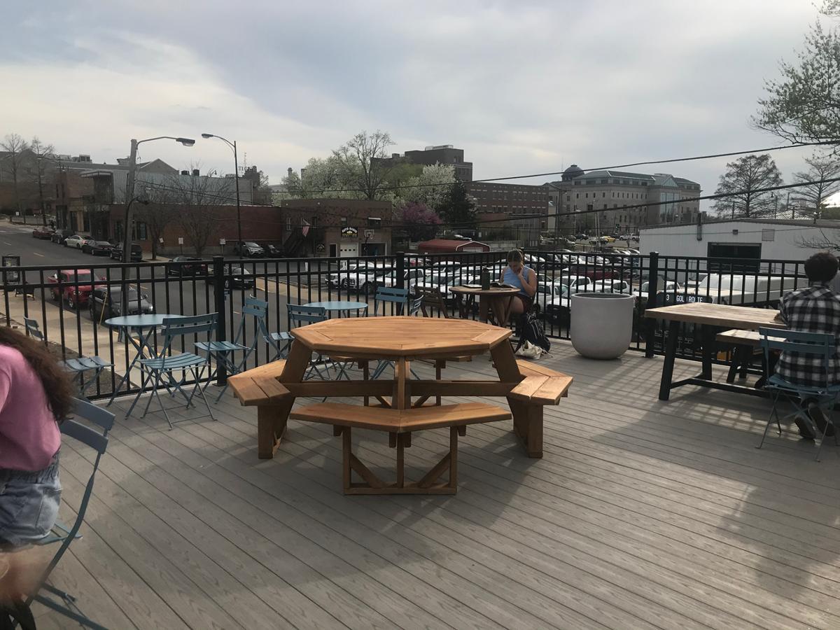 Three Story Coffee patio