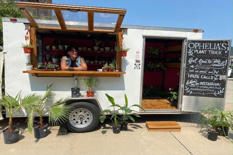 Jeni Mae McKenzie, owner of Ophelia's Plant Truck