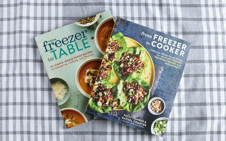 Thriving Home cookbooks