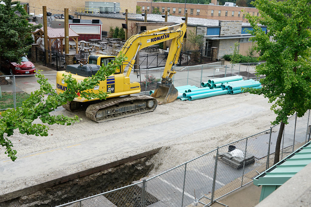 The Flat Branch Relief Sewer Project 3 impacts traffic between Elm and Cherry Street