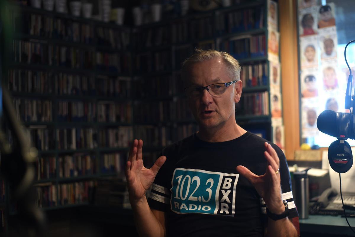 Simon Rose on air