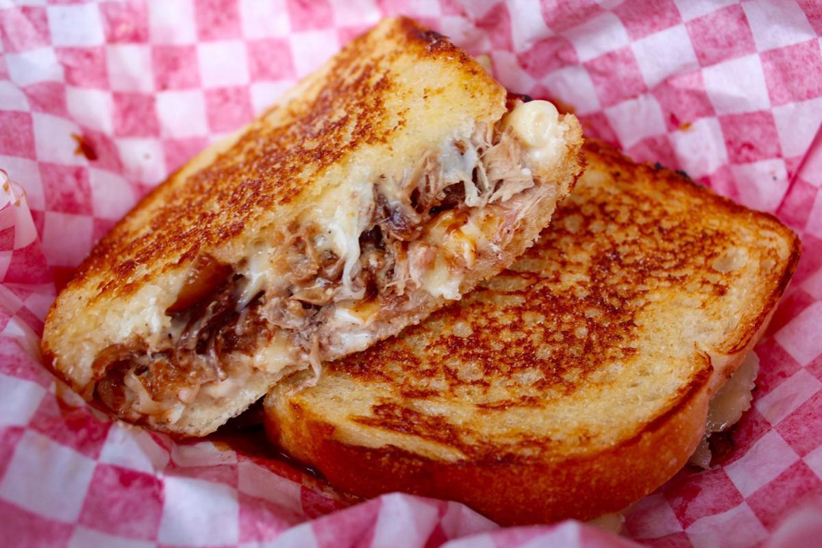 T/F Big Cheeze sandwich