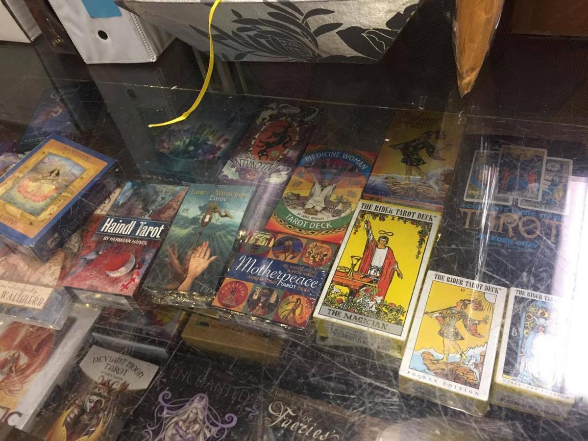 Tarot cards at Peace Nook