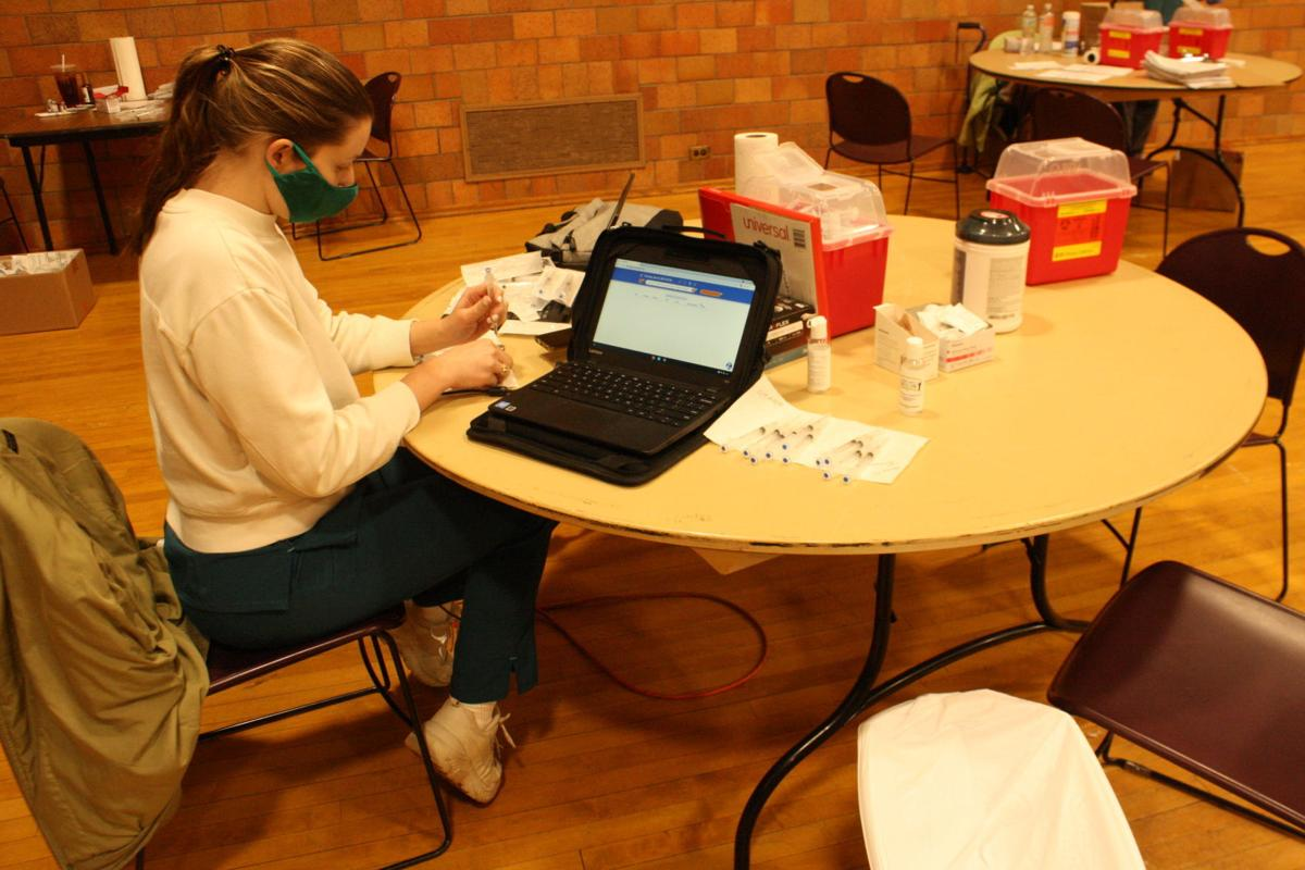 National Guard assists with vaccinations