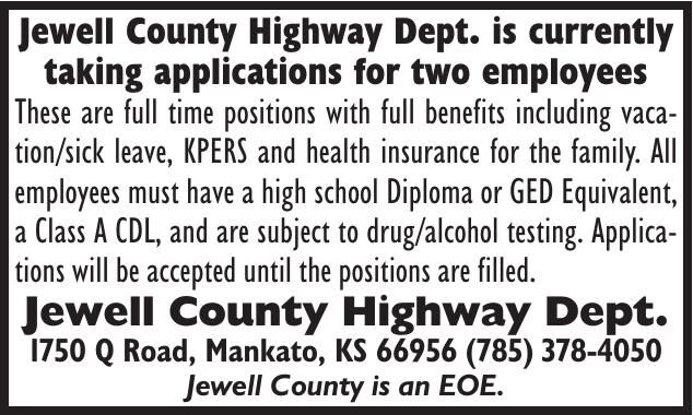 Jewell County Highway Department