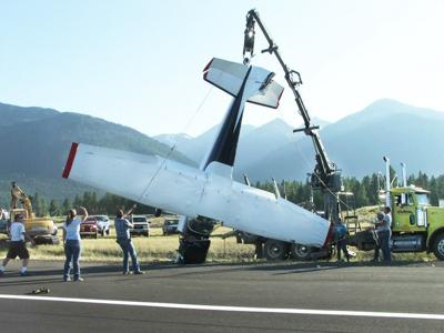 Plane gets a lift