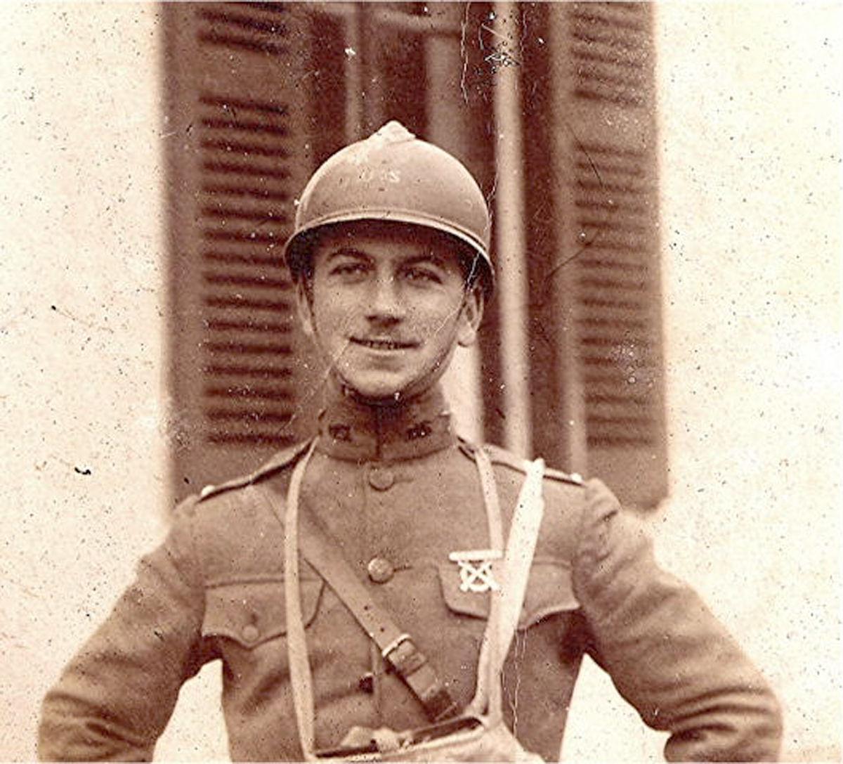 WWI U.S> Soldier in Adrian helmet.jpg