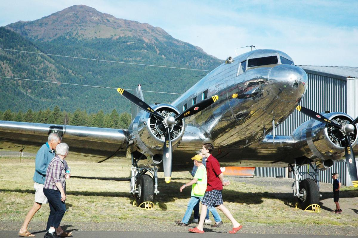 Pilot stories abound at Wallowa County Fly-In