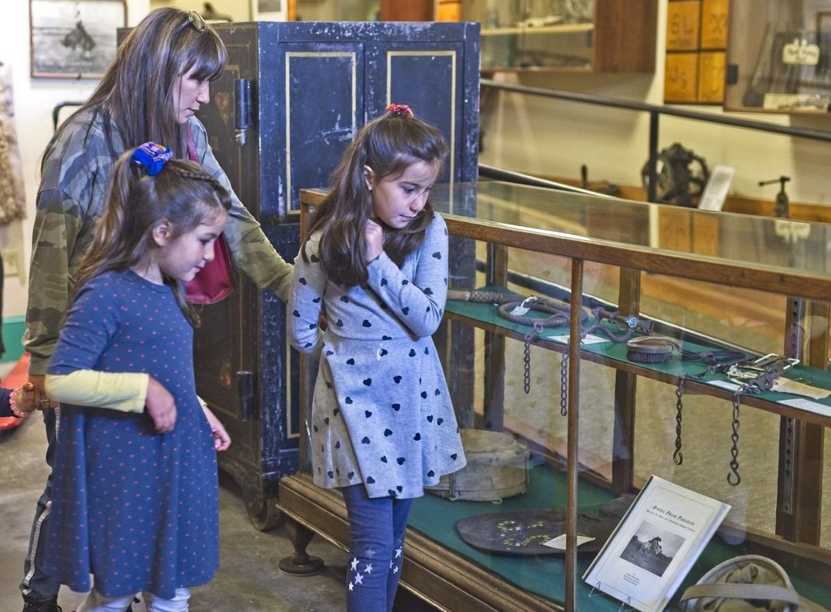 Wallowa County museum family