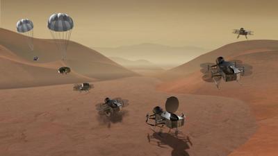Titan quadracopter