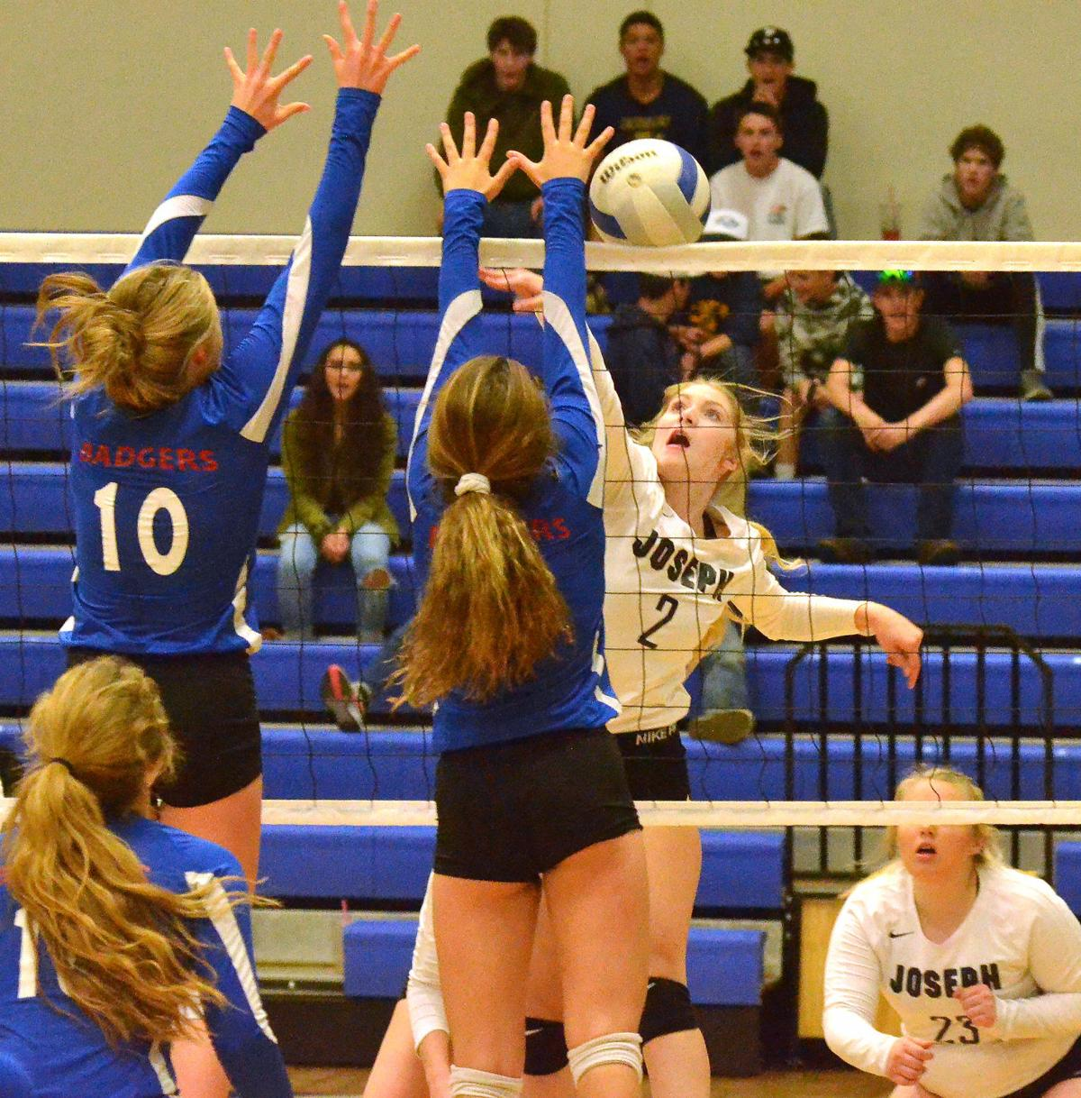Joseph volleyball team finishes second in league