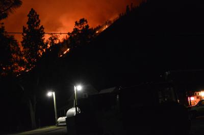 FRIDAY 3:30 p.m.: Evacuation and fire updates