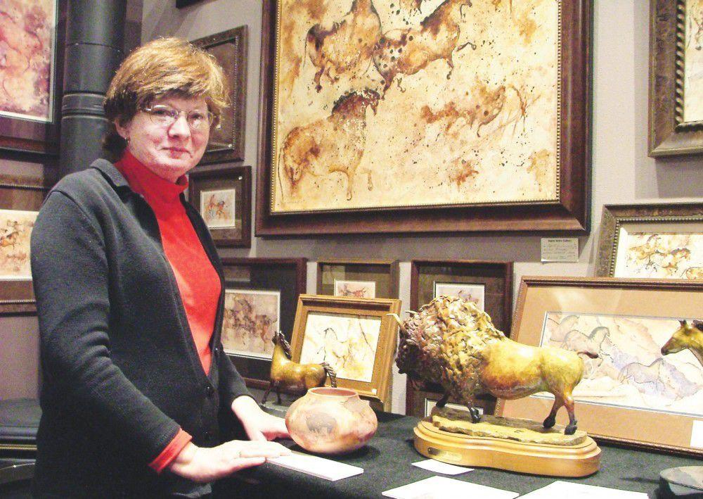 TV spotlight on versatile artist Carol McLaughlin