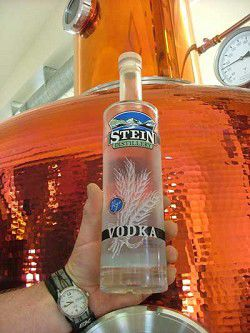 Stein now producing top-quality rye vodka