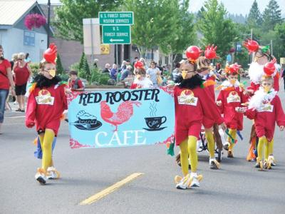 Red Roosters rule at kiddie parade