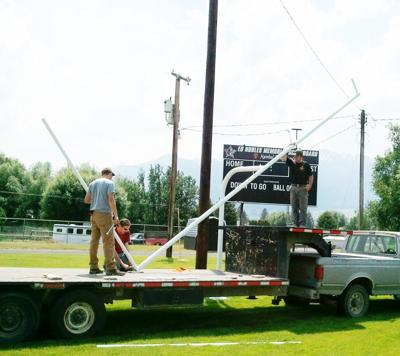 Goal post returns to Outlaws' field