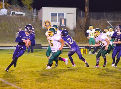 Eagles football shines in South Wasco matchup