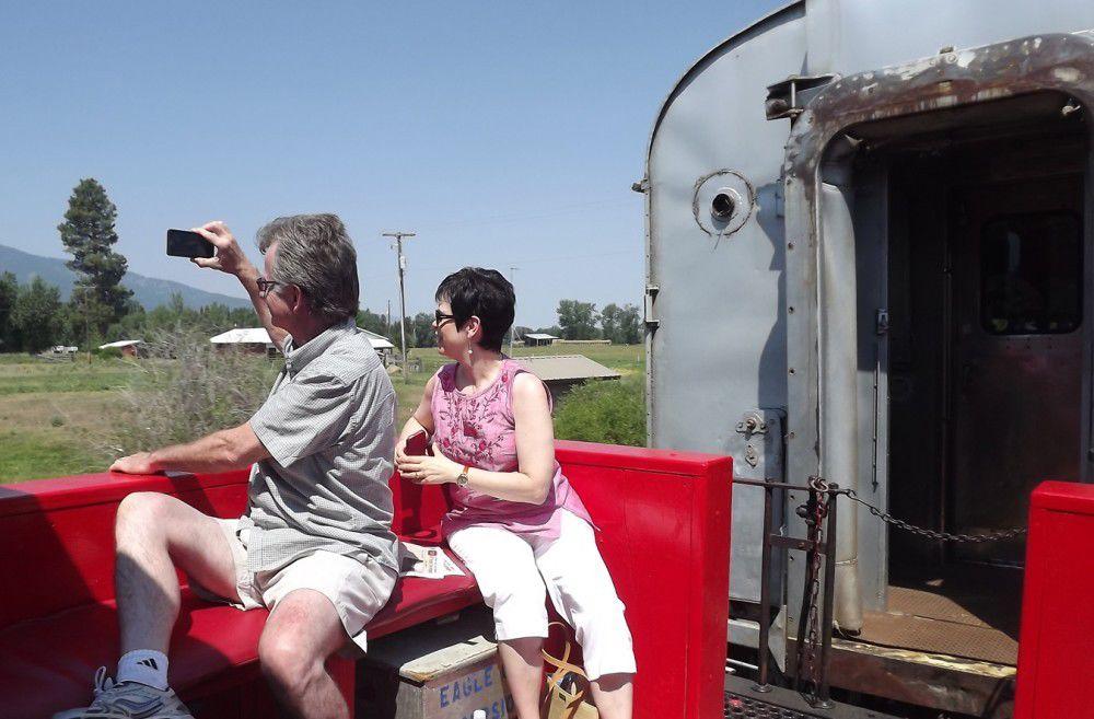 Joseph-to-Enterprise train rides resume