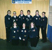 Enterprise FFA chapter enjoys trip to national convention in Louisville