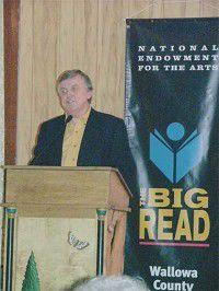 Nicholas launches Big Read project
