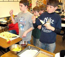 EHS students show younger kids how to combat obesity
