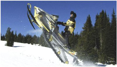 Snowmobile Chad Cooney