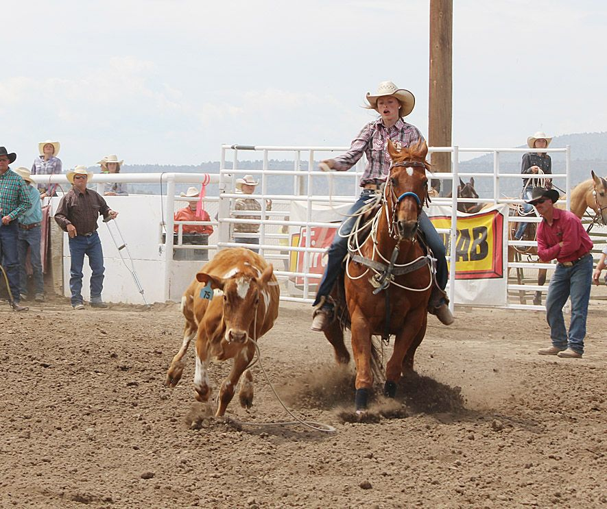 WC granddaughters going to Jr. High Rodeo Championship